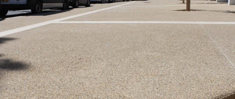 beton agregate expuse
