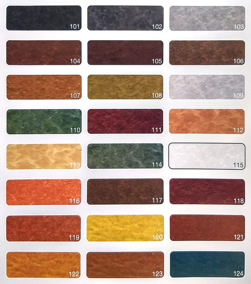 culori beton polimer