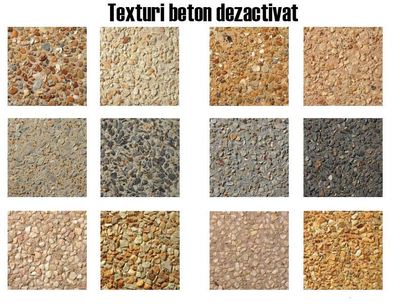 culori beton dezactivat