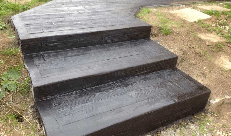 trepte in beton polimer