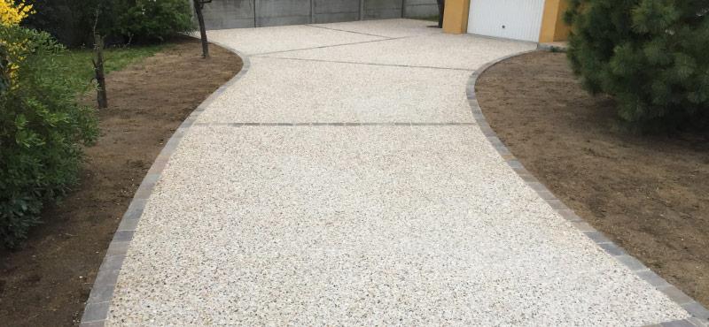 alee beton dezactivat
