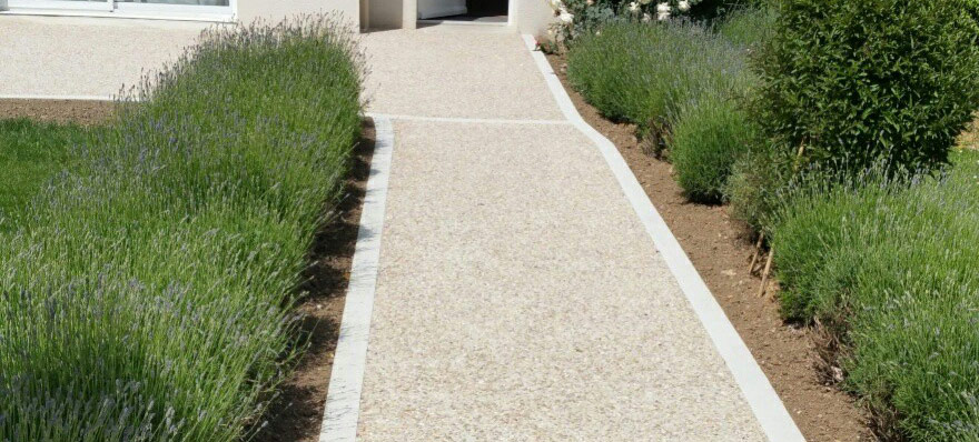 Cum obtinem alei din beton decorative si moderne?