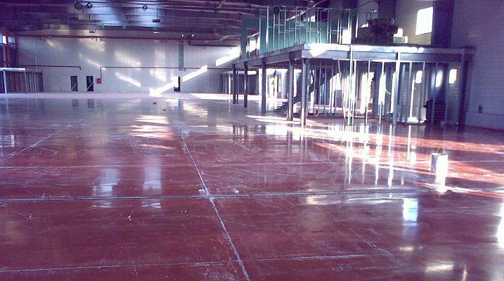 beton elicopterizat colorat rosu