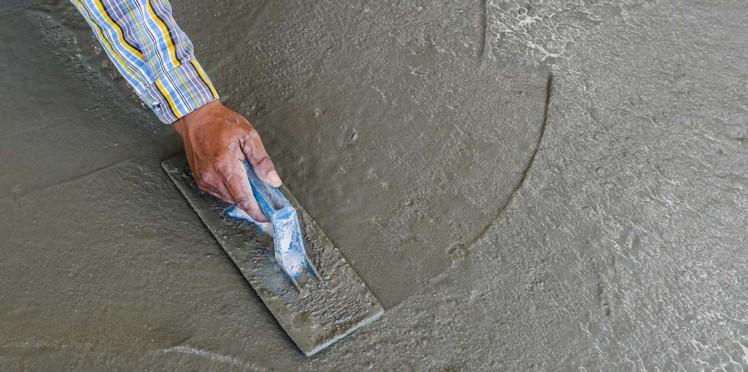 finisare suprafata beton