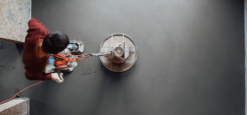 finisarea suprafetei din beton