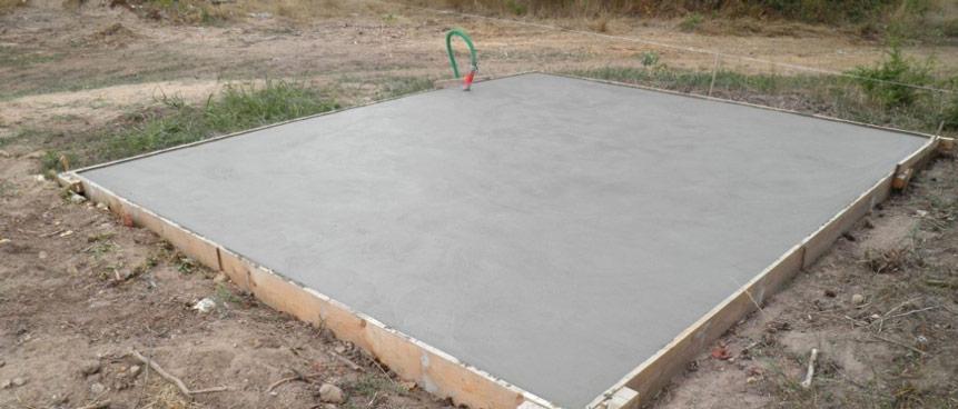 intarire beton in functie de grosimea sapei