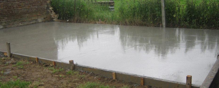 timp de uscare sapa din beton