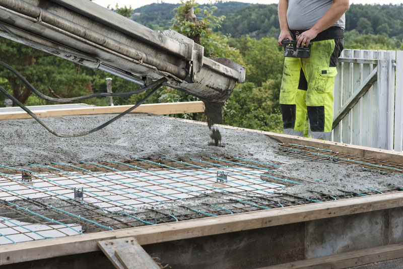 turnare placa beton