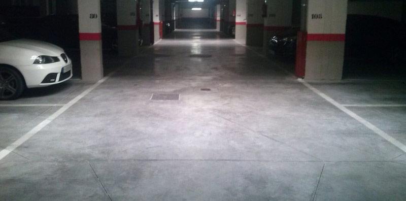 garaj sapa sclivisita din beton