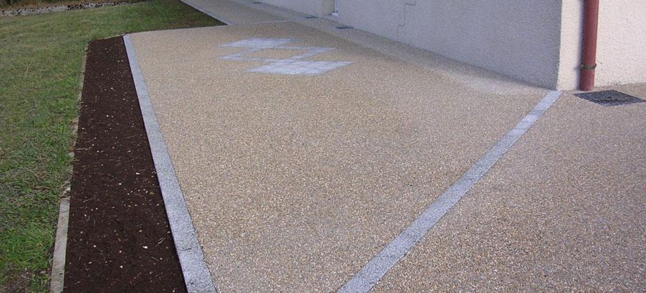 pardoseala din beton spalat