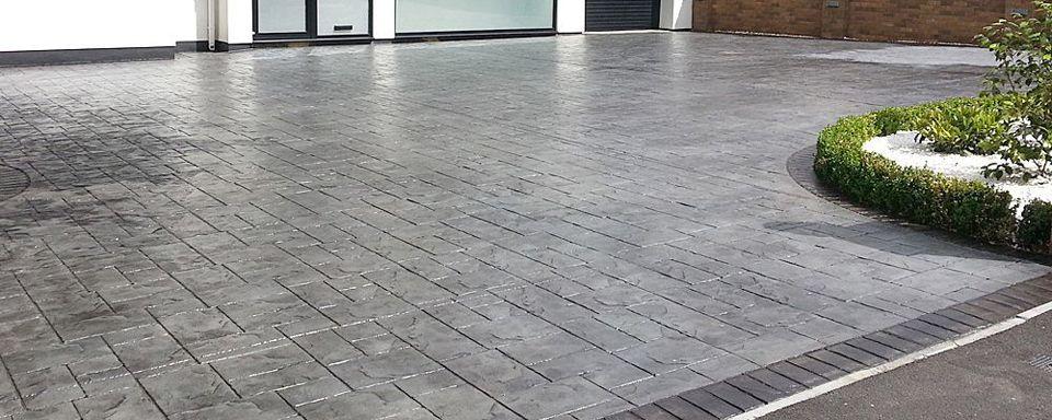 pardoseala din beton pentru exterior