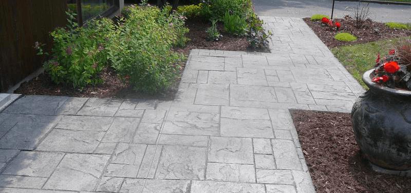 alee pietonala din beton