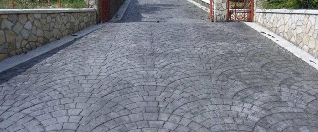 Cum stabilesc reteta de beton pentru alei in functie de destinatie?