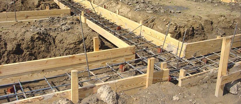 cofraj fundatie beton