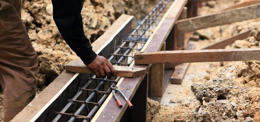 preparare fundatie casa (beton)