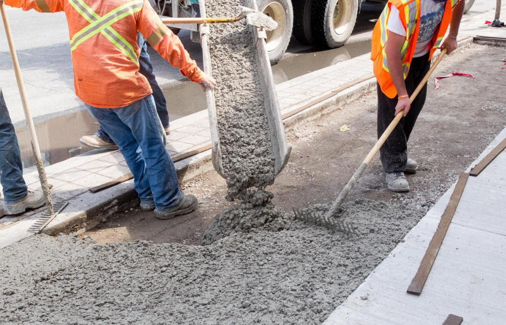 executie beton rutier pentru drumuri sau aeroport