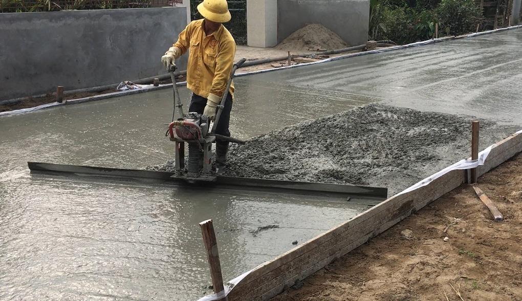 turnare beton rutier