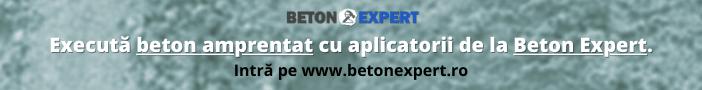 beton amprentat cu aplicatorii beton expert
